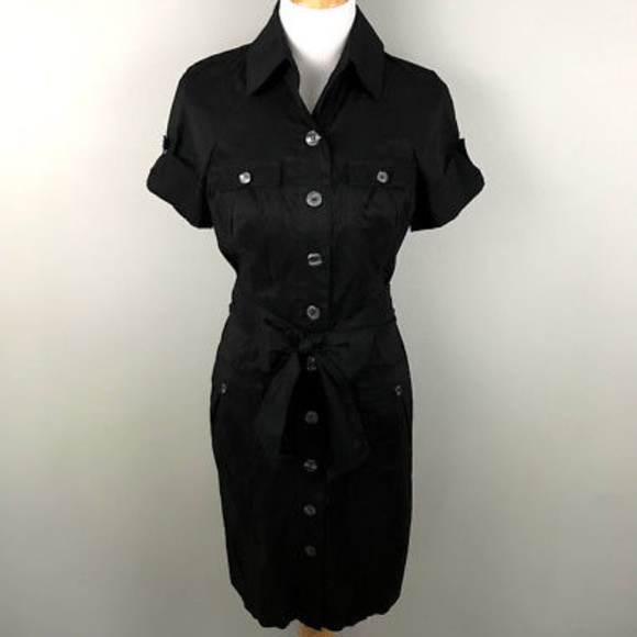 0b2c42ad Diane von Furstenberg Dresses | Button Down Dress 6 Sash Tie | Poshmark